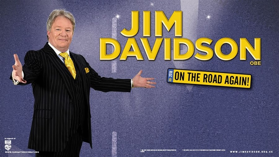 Jim Davidson - On The Road Again!