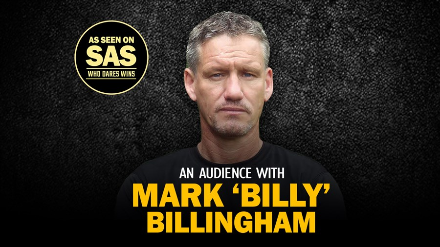 An Audience With Mark Billy Billingham